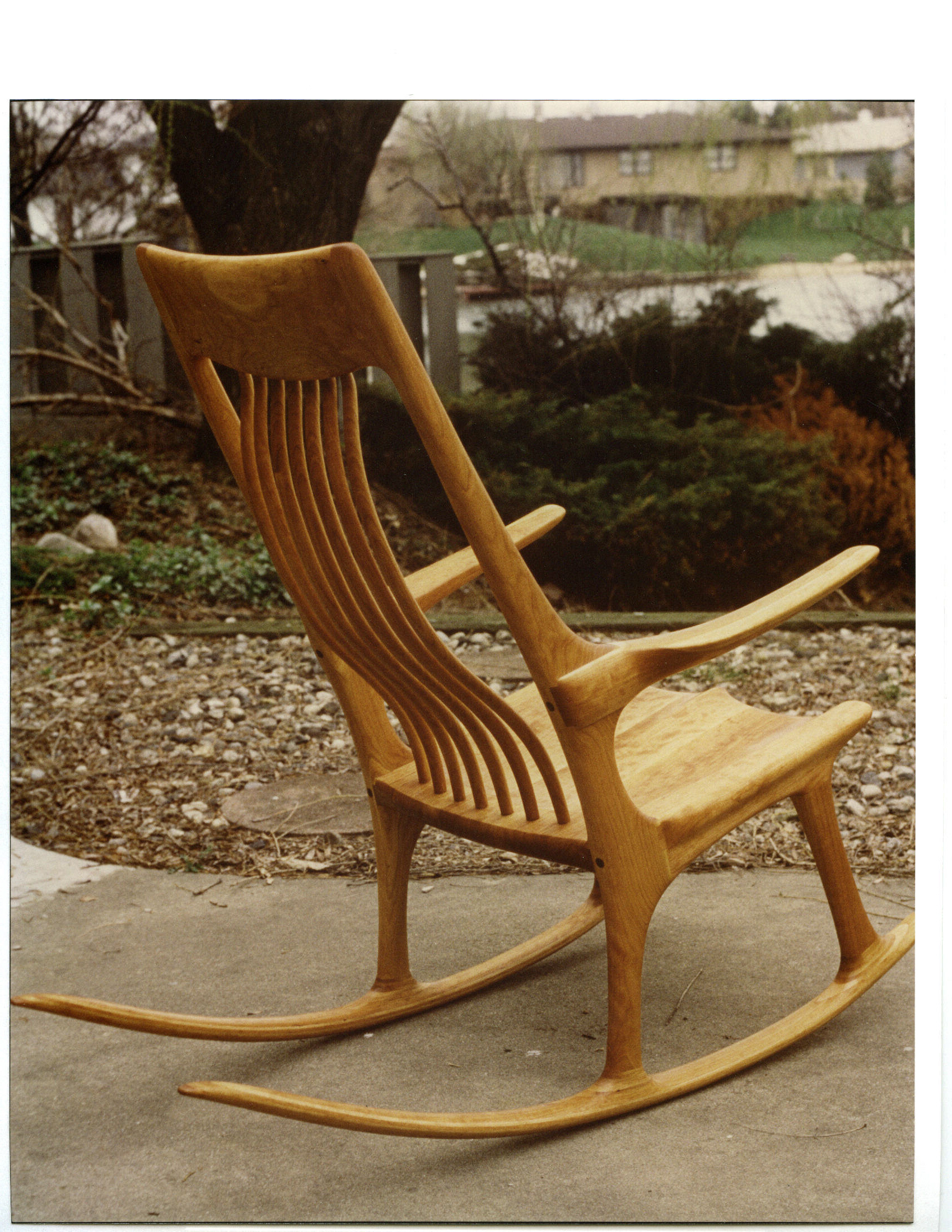 Rick Brewer Custom Cabinets/ Handmade Rocking Chairs And Furniture